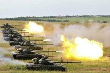 Терористи ''ЛНР'' проводять танкові навчання і готуються до збройних провокацій.