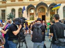Максим Тимошенко: Я категорично проти насильницьких дій!