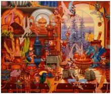Культурно-просветительский центр Александра Прогнимака Alex Art House предсталяет выставку работ Александра Фандикова ''МИР ФЕНТЭЗИ''