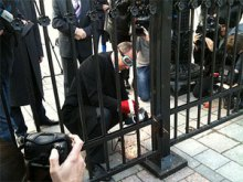 Всеукраїнська громадська організація ''Сила Країни'': звернення щодо паркану біля Верховної Ради України