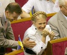 Премьер Юлия Тимошенко превращается в самого влиятельного человека на Украине
