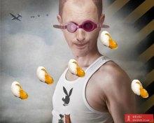 Яценюка в Ужгороде закидали яйцами. Таки ДОСТАЛ!