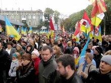 Одесский губернатор панически боится протестов. Фоторепортаж