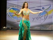 В Одессе определили лучших танцовщиц