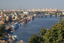 Набережная в Киеве очищена полностью