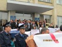 Регіонал на Вінниччині зірвав мирний екологічний пікет.