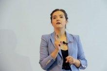 Львів'яни поспілкувались з Наталією Бойко у межах серії зустрічей ''На каву в ЄС''