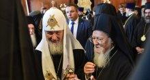 Варфоломей жестко поставил на место Гундяева: ''хочет этого РПЦ, или нет, но они будут следовать принятым Вселенским патриархом решениям''
