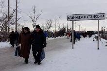 На Луганщині назрівають гарячі бойові дії на лінії розмежування.