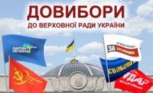 Довибори до Верховної Ради в Україні