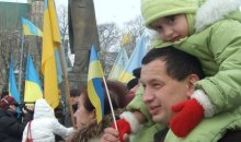 ''Українська хвиля – 2011''. Відзначення Дня Соборності у Львові 22 січня 2011 року.