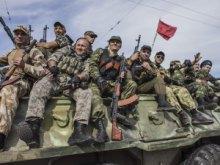 Бойовики ЛНР стягують до Станиці живу силу і бронетехніку женуть БТРи і зенітні установки