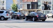 Авто, предназначенное для высокопоставленных гостей Украины, засветилось в кортеже Зеленского