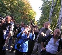 Сотрудники ''АРТа'' и ''ГРАДа'' в Одессе ломали двери и били окна