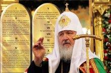 Патриарх Кирилл напомнил о решении Стоглавого Собора