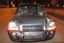 У Луганську водій збив двох людей прямо на пішохідному переході