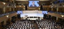Напівпорожній зал під час виступу Порошенка в Мюнхені засвідчив, що Європа втомилася від корумпованого політичного проводу України
