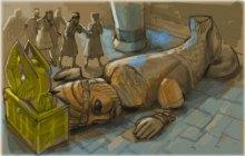 Взятие ковчега филистимлянами