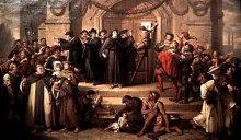 Чи пам'ятають сучасні протестанти про переконання Лютера?