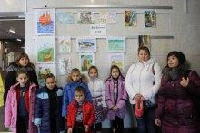 Виставка ''Діти Донеччини за мир!'' на Київщині