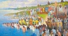 Когда на месте современной Москвы еще квакали жабы, в Киеве 159 лет, как христианство было уже официальной религией