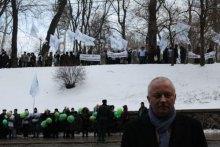 Партия ''Зеленые'' требовала экологический бюджет-2011 у стен Кабмина