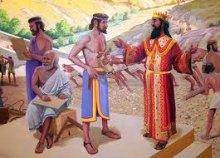 Последствие беззакония царя Соломона