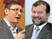 Юра Луценко і Вітя Балога... А от якщо змовляться проти ''патрона''?...