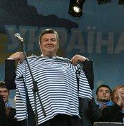 Прем'єр України В.Янукович встановив рекорд за кількістю передвиборних мандрівок країною. В Україні стрімко дорожчають яйця. Чи є взаємозв'язок?