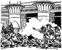 Зіткнення цивілізацій, стародавньої і сучасної