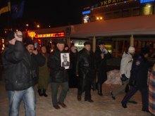 Смолоскипна хода на честь відзначення 100-річниці від дня народження Степана Бандери в Запоріжжі