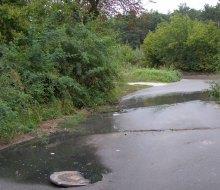 Авария канализации, которая не введена в эксплуатацию!