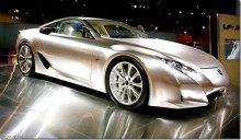 Суперкар японцев Lexus LFA