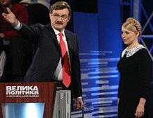 Євгеній Кисельов розказав росіянам про Юлію Тимошенко і свою роботу на ''Інтері''
