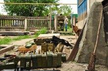 Собака в шоці, або Як охранка ЛНР знайшла схрон зі зброєю ''українських диверсантів''