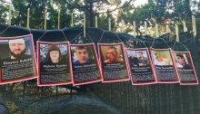 Активисты обвешали ''виллу Авакова'' в Италии фотографиями убитых активистов