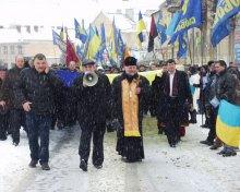 Львів відзначив Свято Соборності
